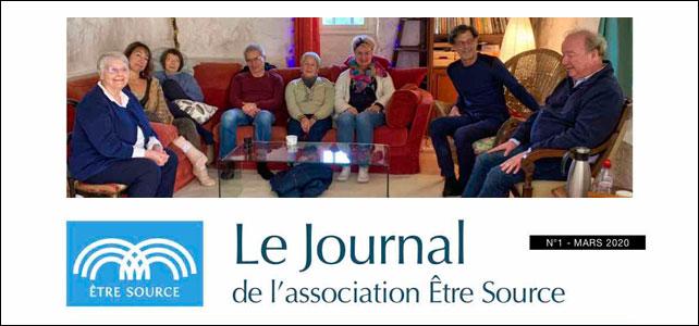 1er édito du Journal de l'association